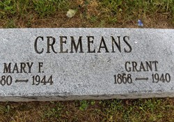 Mary Francis <I>Linville</I> Cremeans