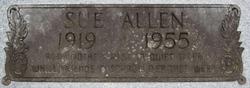 Annie Sue <I>Jones</I> Allen