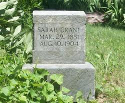 "Sarah Elizabeth ""Lide"" <I>Thomas</I> Crane"