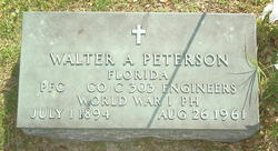 Walter A. Peterson