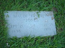 Maude <I>Kingrey</I> Jones