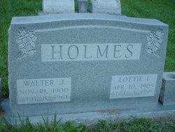 Walter J Holmes
