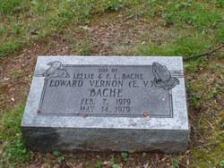 """Edward Vernon """"E.V"""" Bache"""