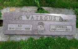 "Homer Edgar ""Ed"" Watrous"