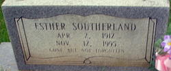 Esther Adealine Southerland
