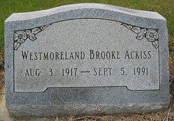 Westmoreland Brooke Ackiss