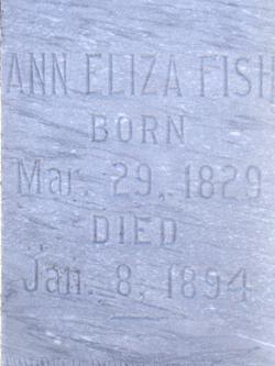 Ann Eliza <I>Goings</I> Fish