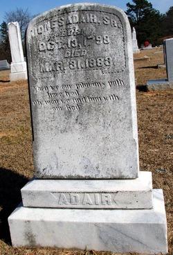 Jones Benjamin Adair, Sr