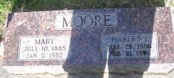 Mary C <I>Rickert</I> Moore