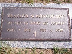 Sgt Traylor Morgan Bondurant