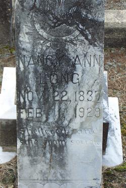 Nancy Ann <I>Phillips</I> Long