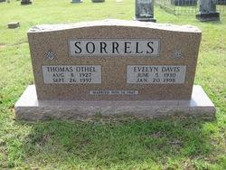 Evelyn Lee <I>Davis</I> Sorrels