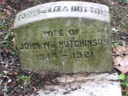 Emma Eliza <I>Dutton</I> Hutchinson