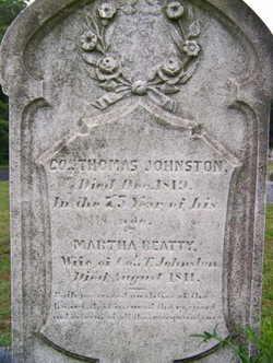 Col Thomas Johnston