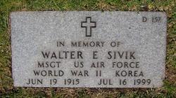 Walter Edward Sivik