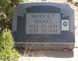 Mary Ellen <I>Stewart</I> Hanks