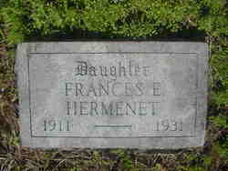 Frances Elizabeth Hermenet