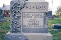 Frances AsburyRhone <I>Troutman</I> Harned