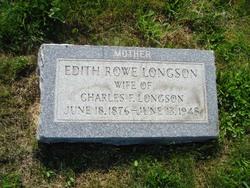 Edith <I>Rowe</I> Longson