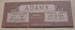Cynthia May <I>Heaps</I> Adams