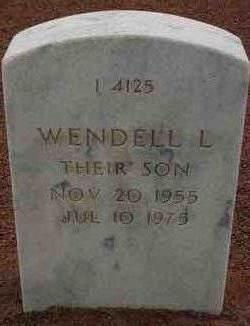 Wendell Lee Cumley