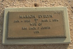 Marion Evelyn Curtis