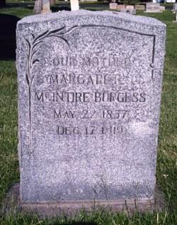 Margaret <I>McIntire</I> Burgess