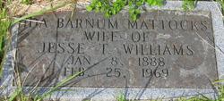 Ida Barnum <I>Mattocks</I> Williams