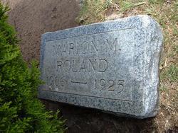 Marion M. Roland