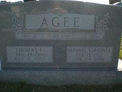 Sgt Thomas F Agee