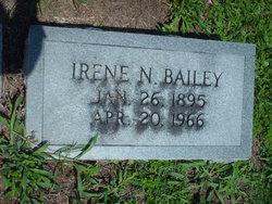 Irene N Bailey