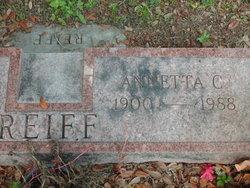 Annetta C Reiff