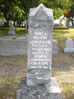 Mary A Wilcox