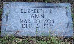 Elizabeth <I>Brooks</I> Akins
