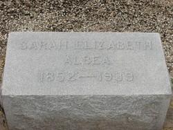 Sarah Elizabeth Albea