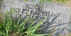 """Violet """"Kiddie"""" <I>Carvalho</I> Eure"""