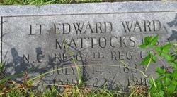 Lieut Edward Ward Mattocks