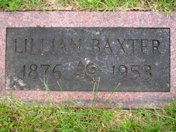 Lillian E <I>Tannehill</I> Baxter