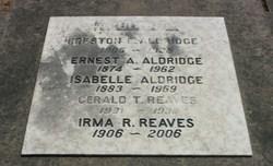 Isabelle <I>Watson</I> Aldridge
