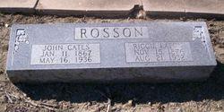 Riccie <I>Eaton</I> Rosson