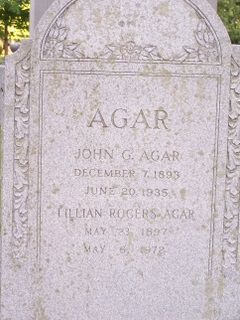 John George Agar, Sr