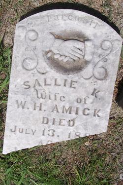 "Sarah K. ""Sallie"" <I>Penry</I> Amick"