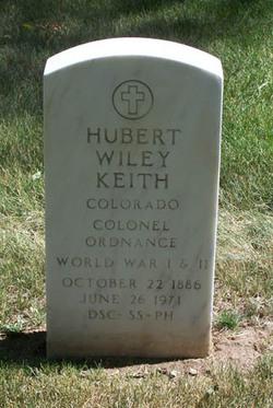 Hubert Wiley Keith