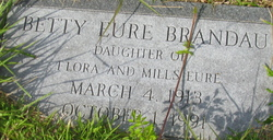 Betty <I>Eure</I> Brandau