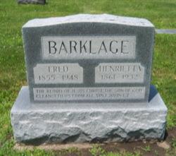 Fred Barklage