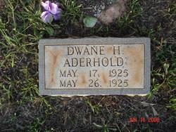 Dwane H Aderhold