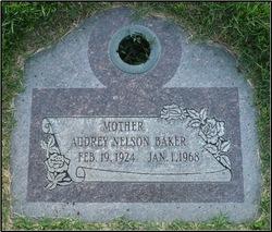 Audrey Elfreda <I>Nelson</I> Baker
