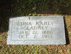 Edna Browning <I>Kahly</I> Gladney