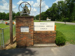 Howell Missionary Baptist Church Cemetery