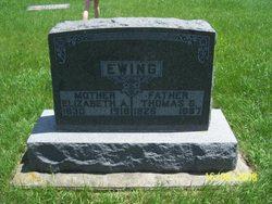 Elizabeth Ann <I>Clark</I> Ewing